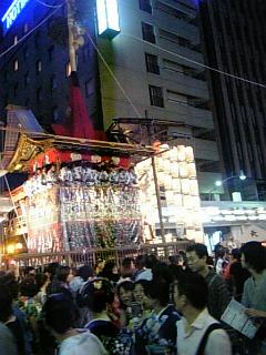 祇園祭で充電&舞台挨拶